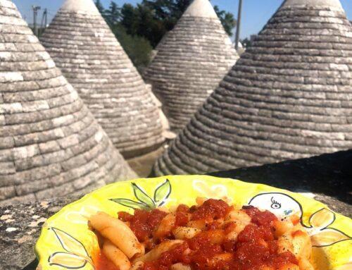 Trecce Sicilia al sugo di granchi